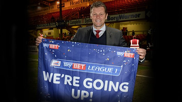 Bristol City Promotion 2014-2015 Steve Cotterill