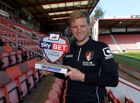Eddie Howe MOM March 2015