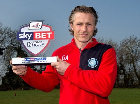Gareth Ainsworth MOM March 2015